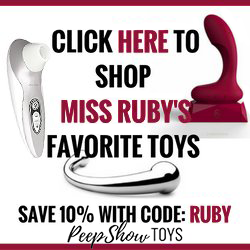 Ruby PeepShow Toys Collection