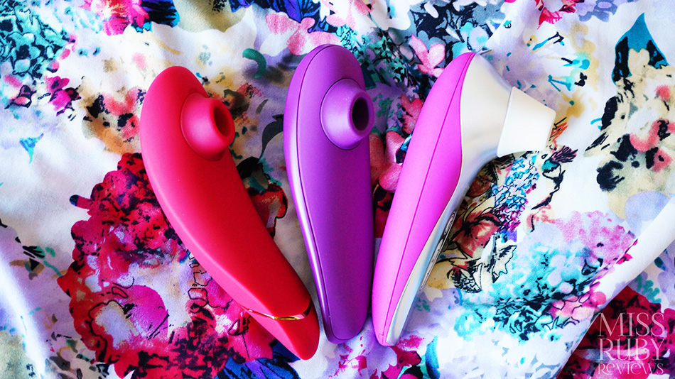 An image of the Womanizer Premium, Classic and Pro40