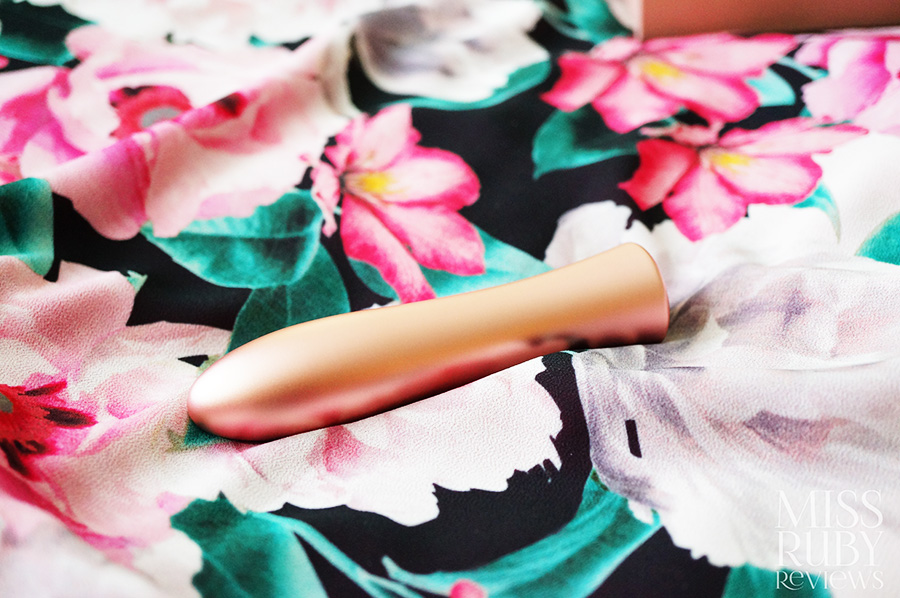 An image of the FemmeFunn Bougie Bullet on Miss Ruby Reviews