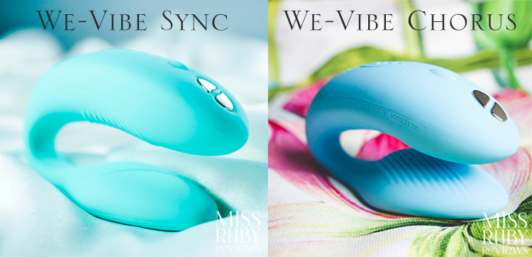 We-Vibe Chorus versus We-Vibe Sync review by Miss Ruby Reviews